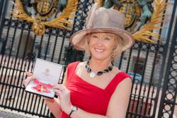 Jeffery picks up OBE at Buckingham Palace