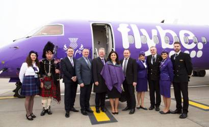 Flybe touches down at Heathrow for first domestic flight since 2013
