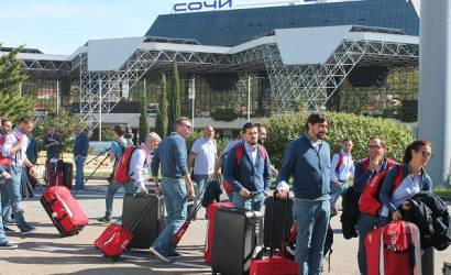 Sochi Airport prepares for Russian Grand Prix