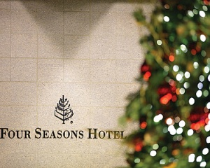 """A taste of Christmas"" at Four Seasons Hong Kong"