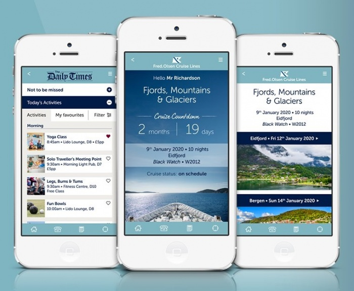 Fred. Olsen Cruise Lines launches new passenger app