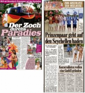 Germany records the German participation at the Carnival in Seychelles