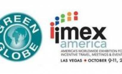 Green Globe certification team at IMEX America in Las Vegas