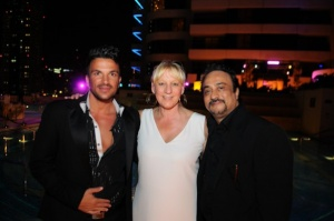 Peter Andre attends star-studded Grosvenor House Dubai party