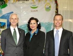 US Secretary of Commerce visits Guam Visitors Bureau at USTA International Pow Wow