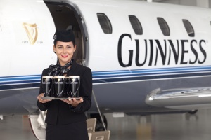 Guinness Class takes to the skies