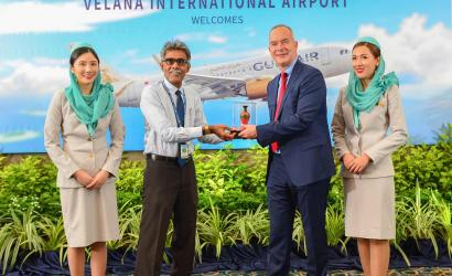 Gulf Air arrives in Maldives for first time