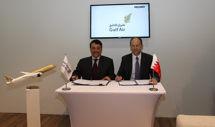 Gulf Air partners with Recaro Aircraft Seating for new aircraft