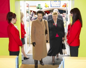 Princess Royal visits Butlins to celebrate The Carers Trust