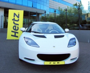 Hertz Brings the Lotus Evora for exclusive hire in Europe