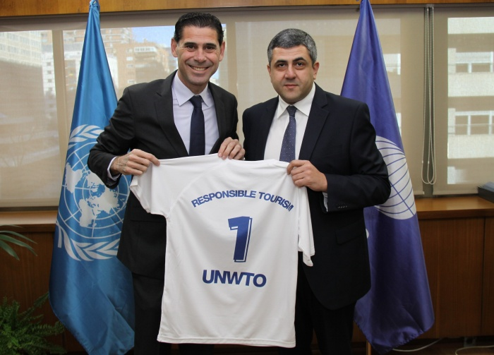 Hierro takes up ambassadorial role with UNWTO