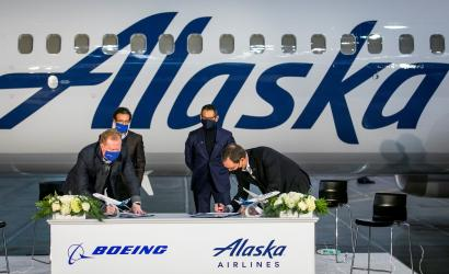 Alaska Airlines expands Boeing 737 Max order