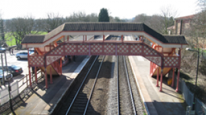 'Hornby' Station footbridge restored