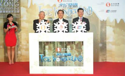 Ice Wonderland launched in East Tsim Sha Tsui
