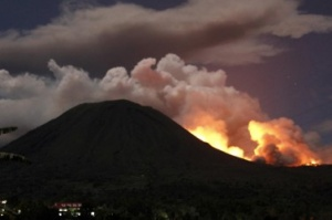 Indonesia hit by volcanic disruption