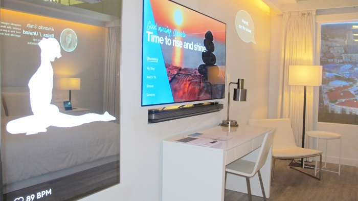 Marriott examines role of technology in hotel room of tomorrow
