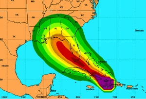 New Orleans braced for Hurricane Isaac impact