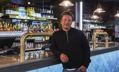Jamie Oliver opens The Diner at Gatwick Airport