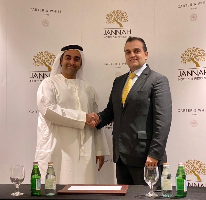 Jannah Hotels signs new Carter & White partnership
