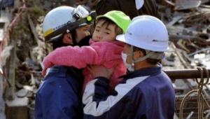 Up to 215,000 Japanese in shelters following earthquake