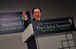 Prime minister Noda of Japan welcomes WTTC Global Summit