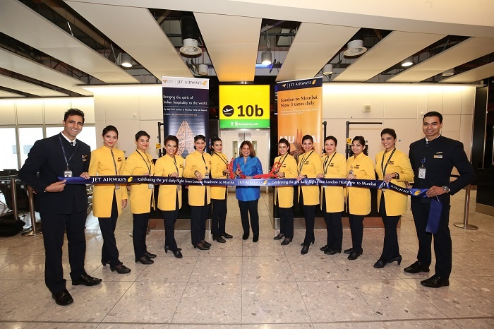 Jet Airways goes triple daily on London-Mumbai route