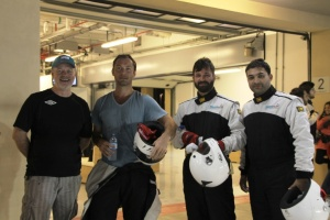 Jude Law visits Yas Marina Circuit ahead of Abu Dhabi Grand Prix