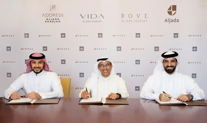 Emaar signs for trio of properties at Aljada, Sharjah