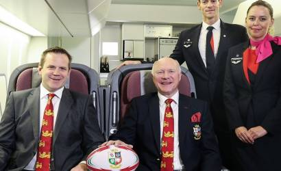 British & Irish Lions sign with Qantas for 2017 tour