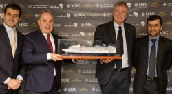 Etihad Airways signs partnership with MSC Cruises to boost Abu Dhabi