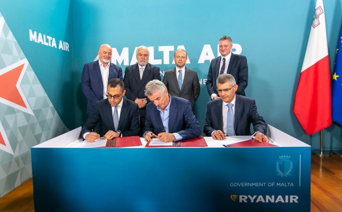 Ryanair launches Maltese subsidiary with latest acquisition
