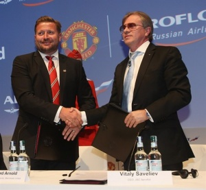 Manchester United sign Aeroflot deal
