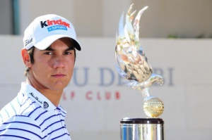 Golf's rising superstar signs for Abu Dhabi