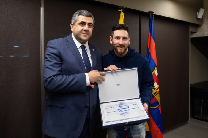 Messi appointed to UNWTO ambassadorial role