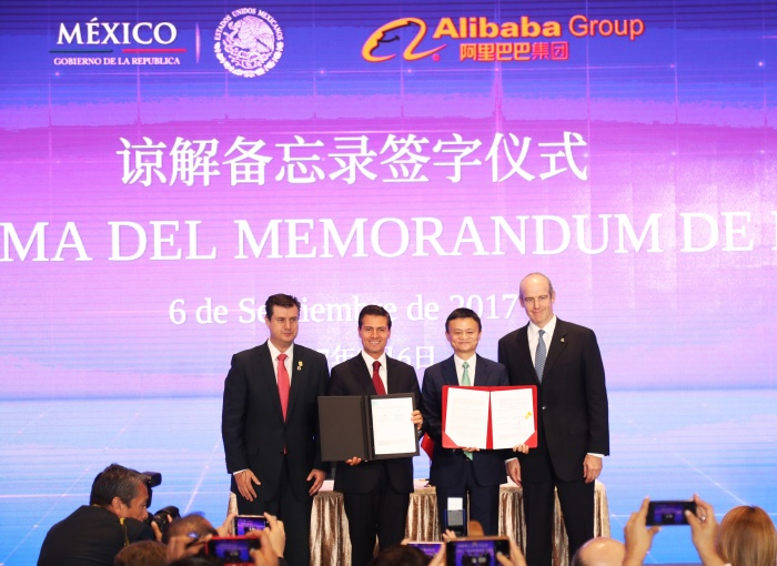 Mexican president Peña Nieto in China for Alibaba deal