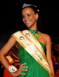 Miss Seychelles…another world 2012 is Sherlyn Furneau