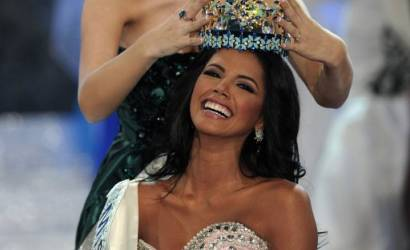 Triumphant homecoming as Miss World returns to London