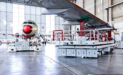 Airbus opens fourth A320 production line in Hamburg, Germany