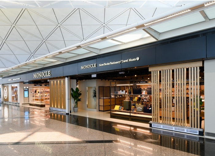 Monocle opens travel retail store in Hong Kong airport