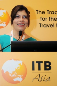 ITB Asia underway at Marina Bay Sands, Singapore