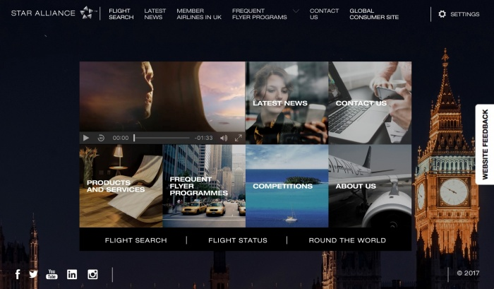 Star Alliance launches new UK-tailored website