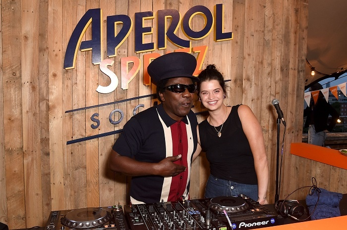 Aperol Spritz Social welcomes stars to Netil 360, London