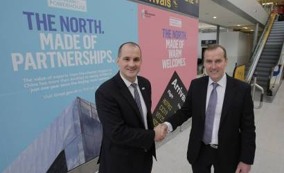 Minister Berry visits Manchester Airport to showcase Northern Powerhouse