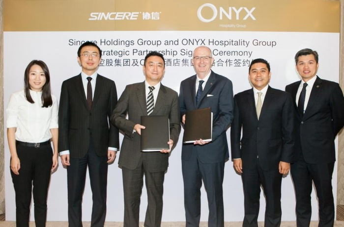 Onyx signs with Sincere Holdings for Shama expansion in China
