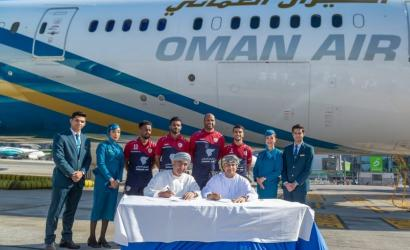Oman Air extends support to national football side