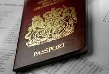 passport damaged in washing machine