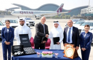 Hamad International welcomes fleet of Audi luxury cars