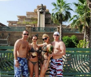 Paris Hilton returns to Atlantis, The Palm, Dubai