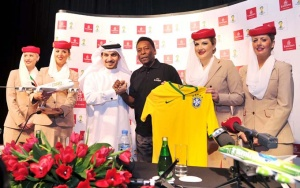 FIFA World Cup 2014: Emirates Global Ambassador Pelé tours Dubai