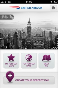 British Airways launches Perfect Day App